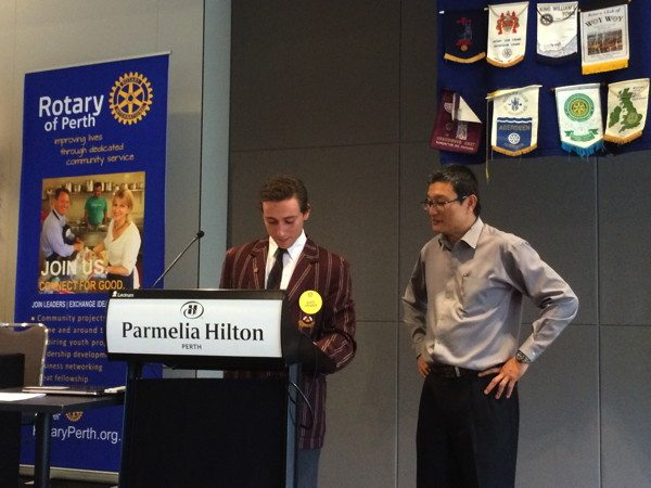 Rotary Club of Perth International Exchange Student