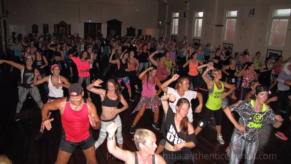 Patty Rojo-Diaz hosts Zumba Master Class