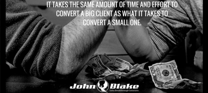 John Blake Sales Training, Australian Corporate Sales